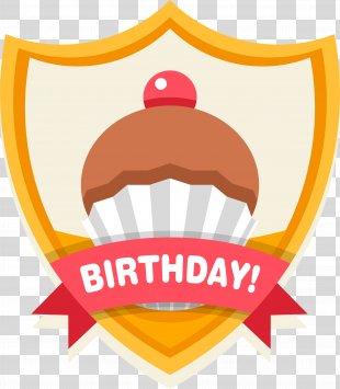 Birthday Cake Happy Birthday To You Clip Art - Happy Birthday Celebration Label PNG