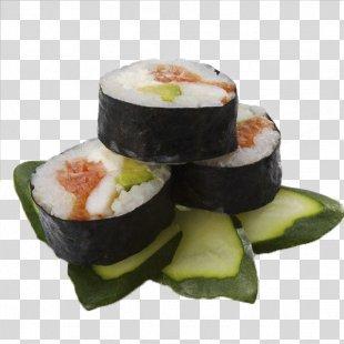 California Roll Sushi Gimbap Japanese Cuisine Makizushi - Japanese Sushi PNG