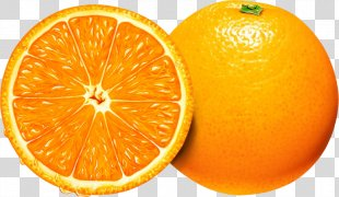 Orange Juice Health Mandarin Orange - Orange PNG