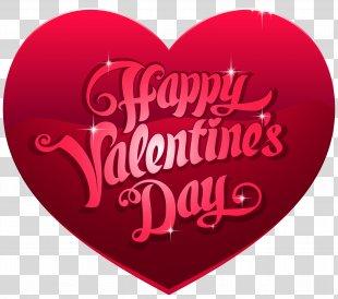 Valentine's Day Heart Clip Art - Happy Valentine's Day Heart PNG Clip Art Image PNG