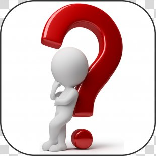 Organization Question Business Person Management - Thinking Man PNG