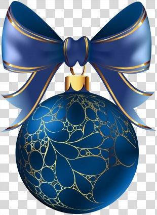 Christmas Clip Art - Christmas Ball Blue Transparent Image PNG