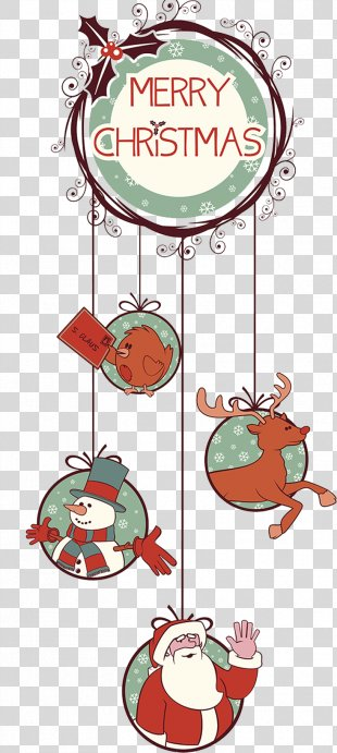 Rudolph Christmas Tree Christmas Decoration - Christmas Decorations PNG