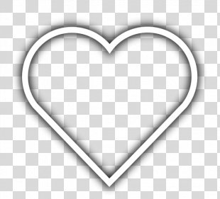 Heart Playing Card Drawing Clip Art - White Heart Cliparts PNG