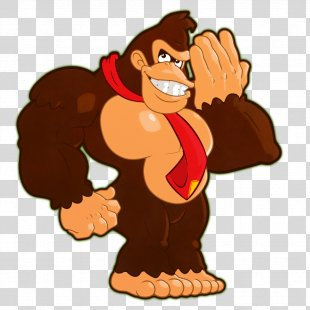Donkey Kong Country 2: Diddy's Kong Quest Mario Gorilla - Donkey PNG