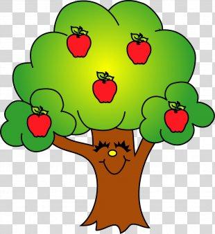 Apple Tree Fruit Clip Art - Tree Clip Art PNG