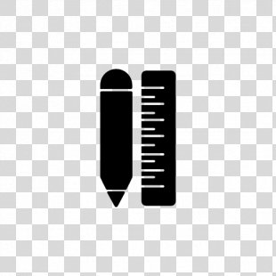 Ruler Pencil Protractor - Ruler PNG