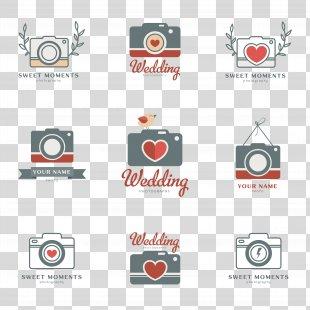Logo Camera Photography Illustration - Heart-shaped Camera Logo PNG