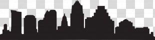 Skyline Silhouette - Austin Tx Skyline Outline PNG