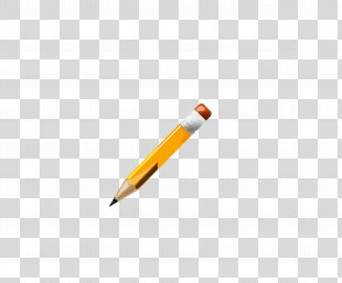 Colored Pencil Drawing - Cartoon Pencil PNG