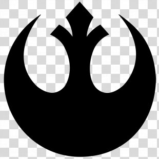 Rebel Alliance Star Wars Logo Galactic Empire - Star Wars PNG