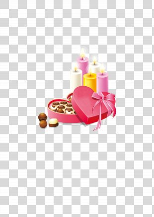 Valentine's Day Heart Gift Clip Art - Gift Chocolate Gifts PNG