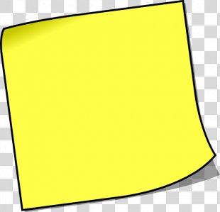 Post-it Note Sticky Notes Paper Clip Art - Sticky Note PNG