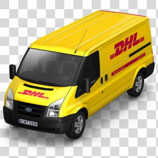 Compact Van Model Car Commercial Vehicle - DHL Van Front PNG