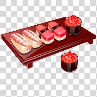 Sushi Japanese Cuisine - Sushi PNG