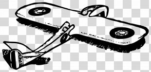 1920s Airplane Paper Clip Art - Paper Plane PNG