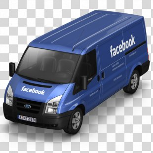 Compact Van Model Car - Facebook Van Front PNG