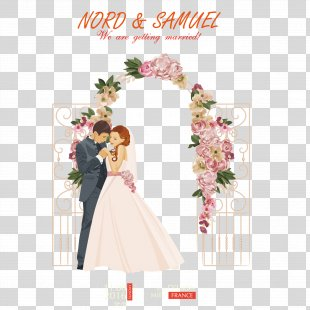 Wedding Illustration - Romantic New Person PNG