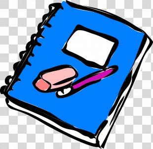 Notebook Writing Clip Art - Exam PNG