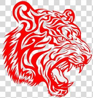 Tiger Tattoo Drawing Flash Clip Art - Koi Tattoo PNG