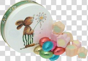 Easter Bunny Red Easter Egg Easter Basket - Easter PNG