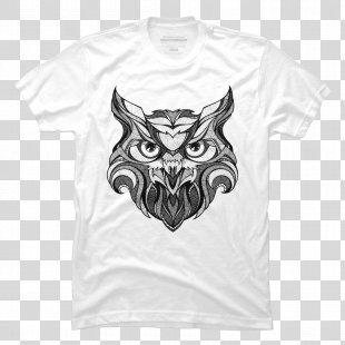 Owl Drawing Tattoo Sketch Bird - Owl PNG