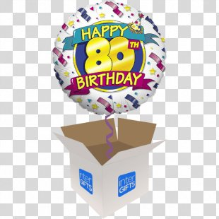 Birthday Balloons Party Wish - Birthday PNG