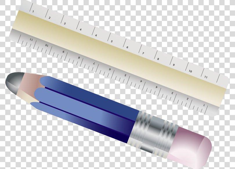 Ruler Pencil Drawing Clip Art, Ruler PNG, Free Download