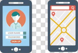 Mobile App Responsive Web Design Application Software - Smartphone Interface Design PNG