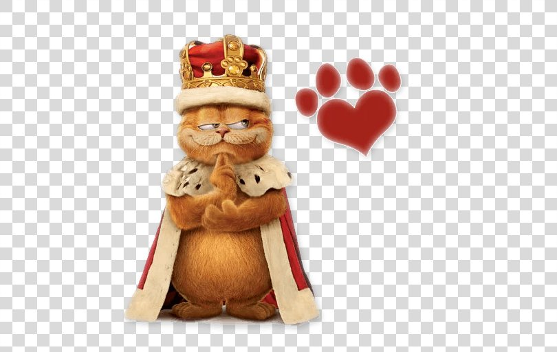 Garfield Cat Sticker Telegram Hollywood, Cat PNG