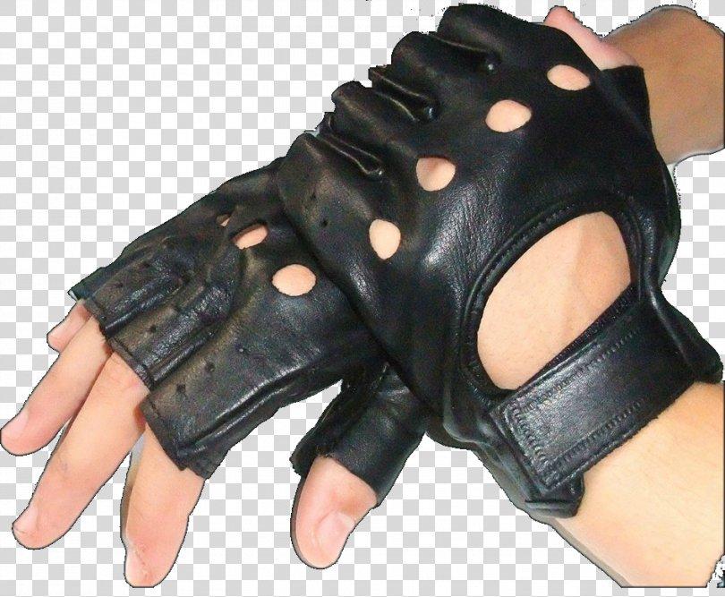 Finger Driving Glove Leather Digit, Half Off PNG