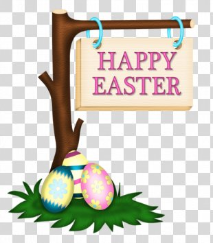 Easter Bunny Clip Art - Happy Easter PNG