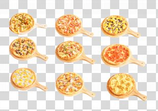 Pizza Vegetarian Cuisine Dish Tomato Food - The Pizza On The Plate PNG