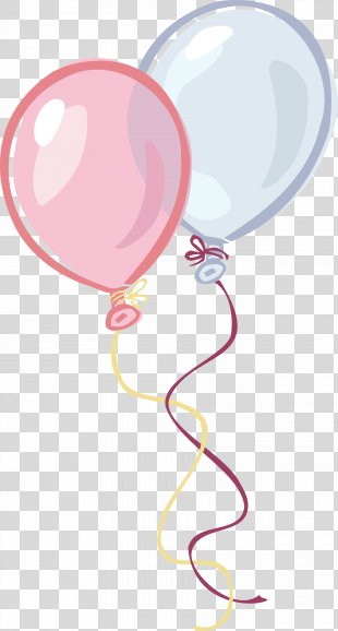 Balloon Birthday Party Clip Art - Birthday Balloons PNG