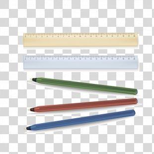 Pen Ruler Designer - Ruler And Pen PNG