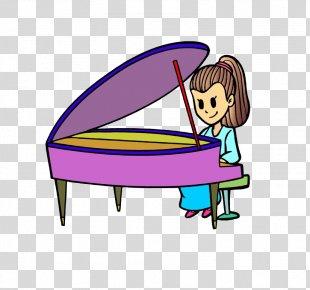 Piano Cartoon Computer File - Piano PNG