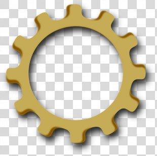 Gear Mechanics Sprocket Mechanical Engineering Clip Art - Gear PNG