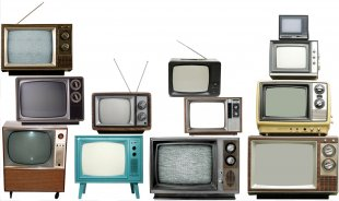 Television Set Vintage TV Photography Broadcasting - Tv PNG