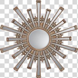 Mirror Starburst Gold Interior Design Services Sunburst - Starburst Gold PNG