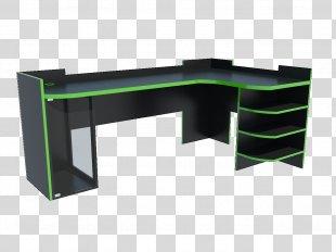 Desk Table Furniture Gamer Computer - Desk PNG