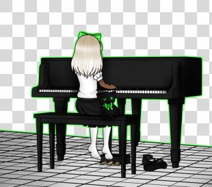 Piano Spinet Chair Desk - Piano PNG
