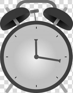 Alarm Clock Clip Art - Alarm Clock Material PNG