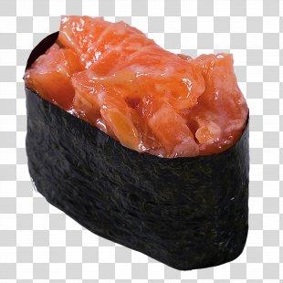 Sushi Makizushi Smoked Salmon California Roll Pizza - Sushi PNG