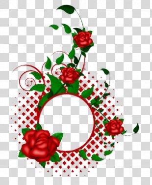 Floral Design Picture Frames Flower Clip Art - Flower PNG