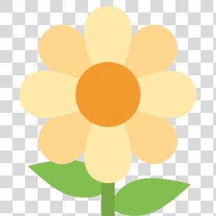 Emoji Flower IPhone Text Messaging - Emoji PNG