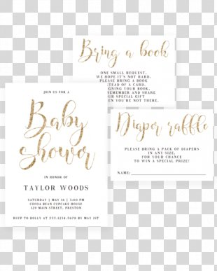 Wedding Invitation Baby Shower Infant Diaper Gift - Baby Shower Invitations PNG