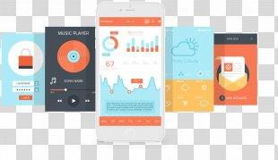 User Experience Mobile App Development User Interface Design Application Software - App Design Material PNG