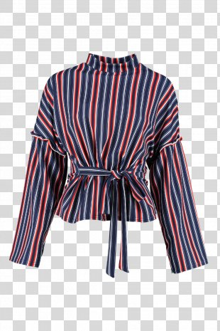 Shirt Clothing Sleeve Outerwear Blouse - Stripes PNG