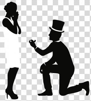 Clip Art Marriage Proposal Wedding Invitation Bridegroom - Wedding PNG