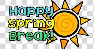 East Meadows Elementary School Spring Break Clip Art - Spring Summer Break PNG